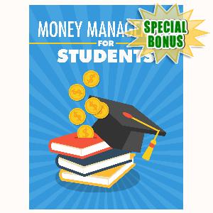 Special Bonuses - September 2016 - Money Management For Students