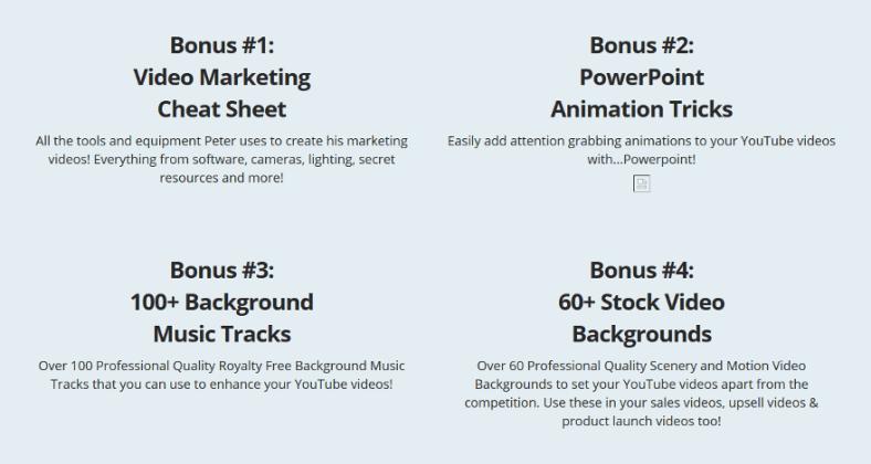 Tube Amplify Bonuses