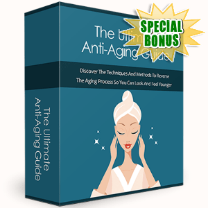 Special Bonuses - October 2016 - The Ultimate Anti-Aging Guide