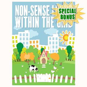 Special Bonuses - October 2016 - Non-Sense Living Within The Grid
