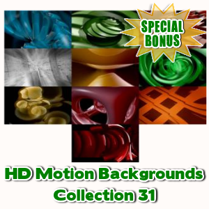 Special Bonuses - December 2016 - HD Motion Backgrounds Collection 31