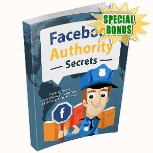 Special Bonuses - December 2016 - FB Authority Secrets