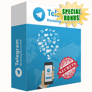 Special Bonuses - February 2017 - Telegram Marketing Secrets Video Series