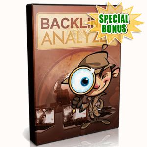 Special Bonuses - April 2017 - Backlinks Analyzer Software