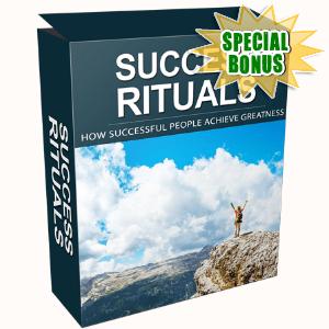 Special Bonuses - April 2017 - Success Rituals