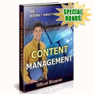 Special Bonuses - April 2017 - Content Management Solutions