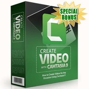 Special Bonuses - June 2017 - Create Video With Camtasia 9 Part 2 Video Series