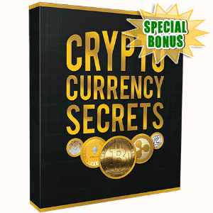 Special Bonuses - August 2017 - Crytocurrency Secrets Video Upgrade Pack