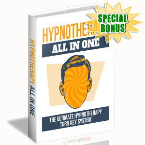 Special Bonuses - September 2017 - Hypnotherapy All In One