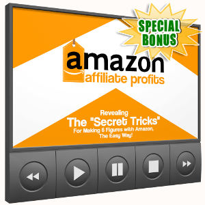 Special Bonuses - October 2017 - Amazon Affiliate Profits Training Videos Pack