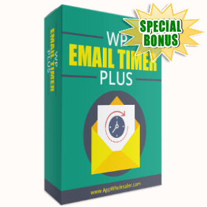 Special Bonuses - November 2017 - WP Email Timer Plus WordPress Plugin