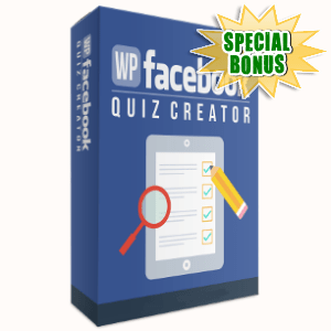 Special Bonuses - November 2017 - WP Facebook Quiz Creator WordPress Plugin