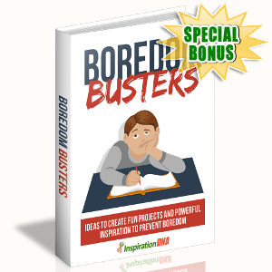 Special Bonuses - November 2017 - Boredom Busters
