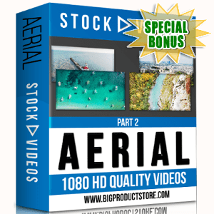 Special Bonuses - November 2017 - Aerial 1080 HD Stock Videos Part 2 Pack