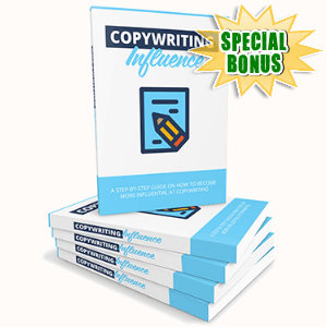 Special Bonuses - November 2017 - Copywriting Influence