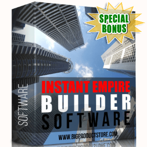 Special Bonuses - December 2017 - Instant Empire Builder Software