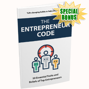 Special Bonuses - December 2017 - The Entrepreneur Code