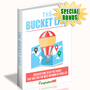 Special Bonuses - December 2017 - The Bucket List