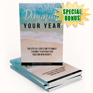 Special Bonuses - January 2018 - Dominate Your Year