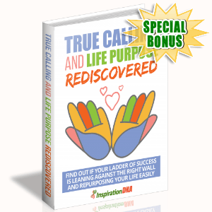 Special Bonuses - January 2018 - True Calling And Life Purpose Rediscovered