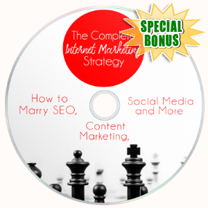 Special Bonuses - January 2018 - The Complete IM Strategy Video Upgrade Pack