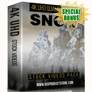 Special Bonuses - February 2018 - Snow 4K UHD Stock Videos Pack