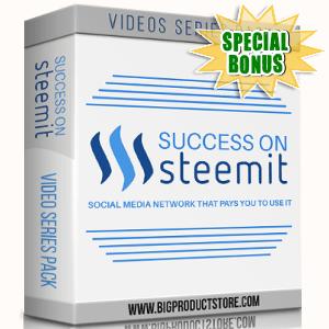 Special Bonuses - April 2018 - Success On Steemit Video Series Pack