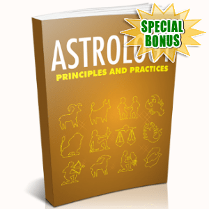 Special Bonuses - April 2018 - Astrology Principles And Practices
