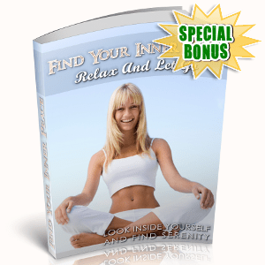Special Bonuses - June 2018 - Find Your Inner Peace - Relax And Let Go