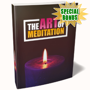 Special Bonuses - July 2018 - The Art Of Meditation Pack