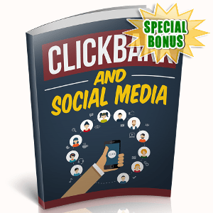 Special Bonuses - October 2018 - Clickbank And Social Media