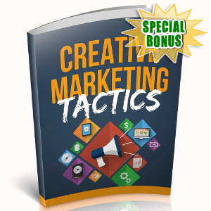 Special Bonuses - October 2018 - Creative Marketing Tactics