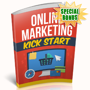 Special Bonuses - November 2018 - Online Marketing Kickstart