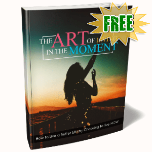Special Bonuses - November 2018 - The Art Of Living In The Moment Pack