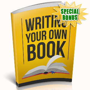 Special Bonuses - December 2018 - Writing Your Own Book