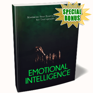 Special Bonuses - January 2019 - Emotional Intelligence