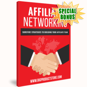 Special Bonuses - February 2019 - Affiliate Networking