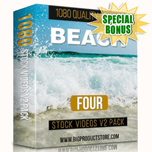 Special Bonuses - March 2019 - Beach 4 - 1080 Stock Videos V2 Pack