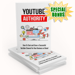 Special Bonuses - April 2019 - YouTube Authority Pack