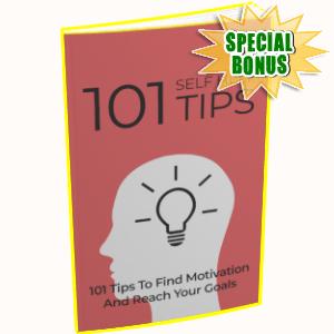 Special Bonuses - April 2019 - 101 Self Help Tips