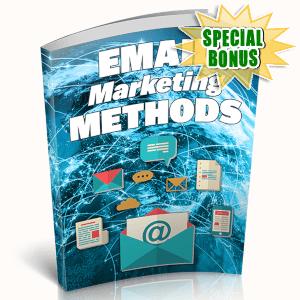 Special Bonuses - April 2019 - Email Marketing Methods