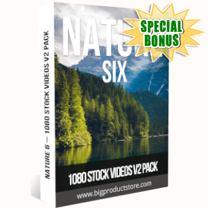 Special Bonuses - July 2019 - Nature 6 - 1080 Stock Videos V2 Pack