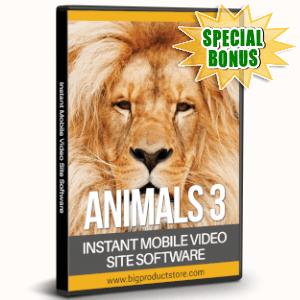 Special Bonuses - July 2019 - Animals 3 - 1080 Stock Videos V2 Pack
