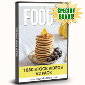 Special Bonuses - August 2019 - Food 4 - 1080 Stock Videos V2 Pack