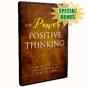 Special Bonuses - October 2019 - The Power Of Positive Thinking V2 Video Upgrade Pack
