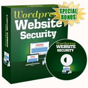 Special Bonuses - October 2019 - WordPress Website Security Video Series Pack