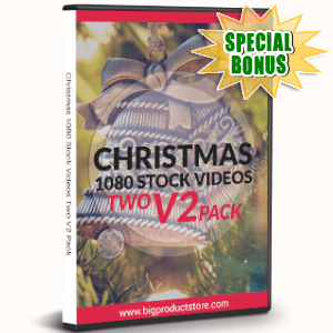 Special Bonuses - November 2019 - Christmas 1080 Stock Videos One V2 Pack