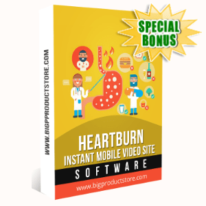 Special Bonuses - January 2020 - Heartburn Instant Mobile Video Site Software