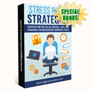 Special Bonuses - February 2020 - Stress Relief Strategies Pack