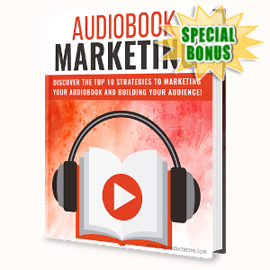 Special Bonuses - April 2020 - Audiobook Marketing Pack